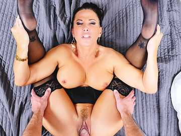 Busty MILF Lezley Zen is ready to make your dream come true