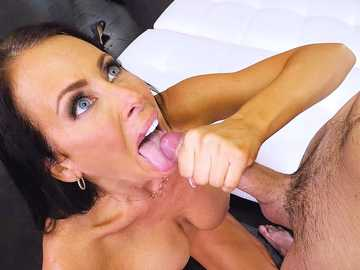 Reagan Foxx: Hot MILF For His Birthday