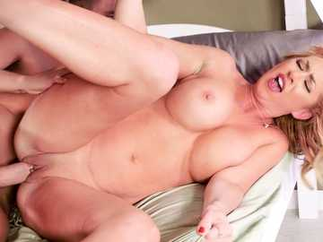 Janna Hicks accidentally fucks a friend of her son in one on one porn scene