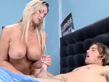 Abbey Brooks: Show Me How You Jerk Off