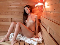 The ceo's daughter Baby Jewel wants to get nasty in the sauna