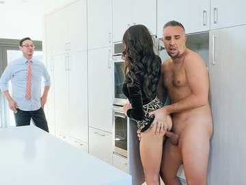 Eva Long cheats on husband with coworker Keiran but spouse returns home earlier