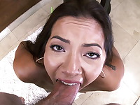 Morgan Lee is one sexy piece of Asian Art! All natural body with a fat ass to go with it. ...